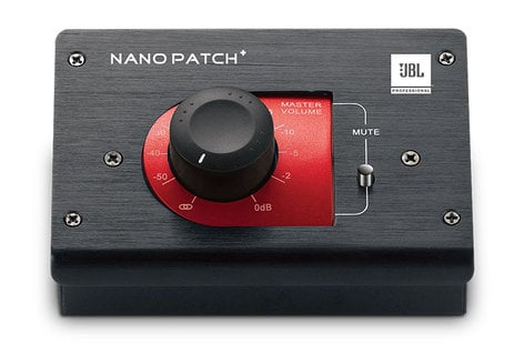 JBL NPATCH+ Compact 2-Channel Passive Volume Controller NPATCH+