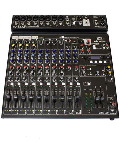 Peavey PV-14-AT  14-Channel Mixer With Antares Auto-Tune PV-14-AT