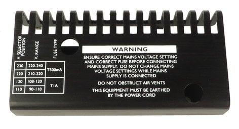 Focusrite 605-K03172091  Heatsink for ISA428 605-K03172091