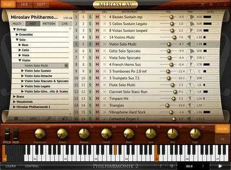 IK Multimedia Miroslav Philharmonik 2 Orchestral Workstation Software MIROSLAV-2