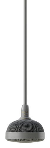 Audix M3-AUDIX Tri-Element Hanging Ceiling Microphone in Charcoal Gray M3-AUDIX