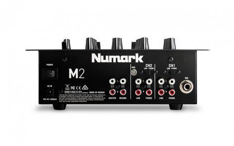 Numark M2-NUMARK 2-Channel Scratch Mixer M2-NUMARK