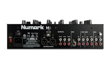 Numark M6USB 4-Channel Mixer With USB M6USB