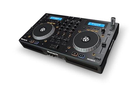 Numark MIXDECK-EXPRESS-BLK Premium DJ Controller With CD And USB MIXDECK-EXPRESS-BLK
