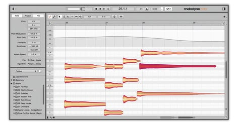 Celemony Melodyne 4 Editor Pitch Correction and Audio Processing Software for Mac & Windows MELODYNE-EDITOR-4