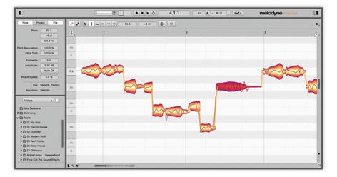Celemony Melodyne 4 Assistant Pitch Correction and Audio Processing Software for Mac & Windows MELODYNE-ASSISTANT-4