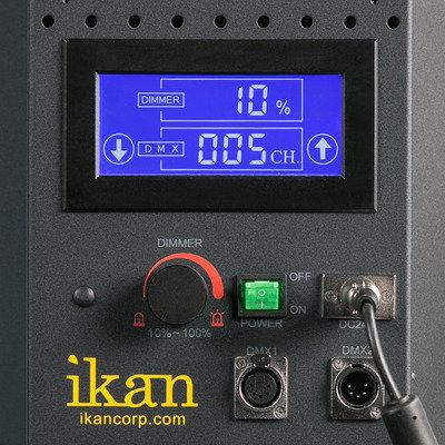ikan Corporation IDMX1500-V2 LED Studio Daylight Flood Light with DMX Control IDMX1500-V2