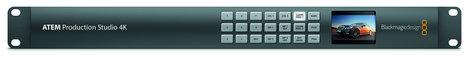 Blackmagic Design ATEM Production Studio 4K 6G-SDI Production Switcher SWATEMPSW04K