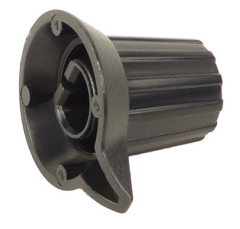 Yamaha V560380R  Black Rotary Encoder Knob for MM6 V560380R
