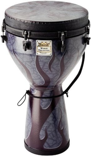 "Remo DJ0014-35 25"" x 14"" Djembe with Flame Finish DJ0014-35"