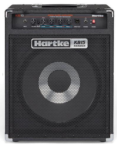 """Hartke HMKB15 Kickback KB15 15"""" Bass Combo Amp HMKB15"""