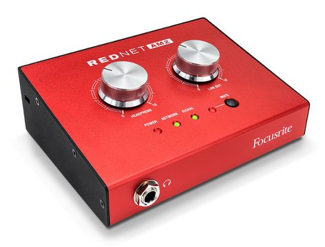 Focusrite Pro RedNet AM2 Headphone Amplifier AM2-FOCUSRITE