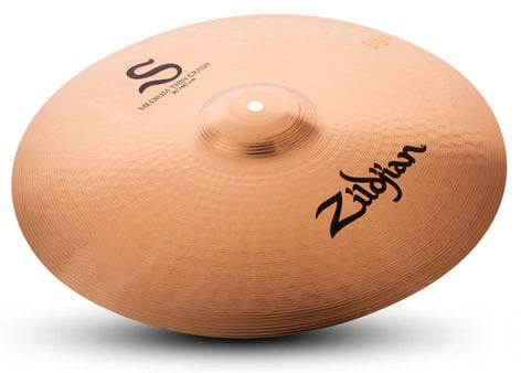 "Zildjian 16"" S Family Medium Thin Crash Cymbal S16MTC"