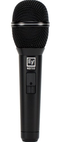 Electro-Voice ND76S Dynamic Cardioid Vocal Microphone With Mute And Unmute Switch ND76S