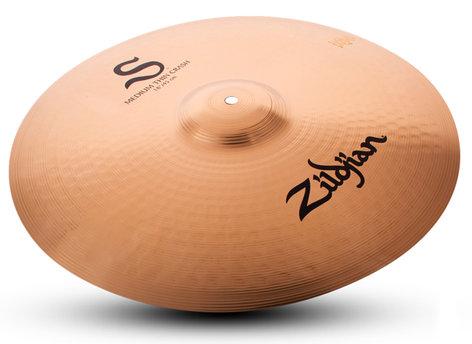 "Zildjian 18"" S Family Medium Thin Crash Cymbal S18MTC"