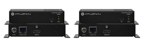 Atlona Technologies AT-UHD-EX-70-2PS 4K/UHD HDMI Over HDBaseT TX/RX Kit AT-UHD-EX-70-2PS