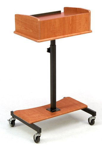 Oklahoma Sound LSS Laptop Speaker Stand, Cherry Finish  LSS-CH