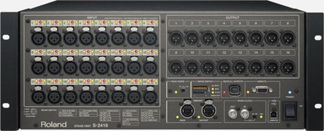 Roland System Group M5000C-12416 Digital Mixing System With 40 Digital Inputs And 24 Digital Outputs M5000C-12416