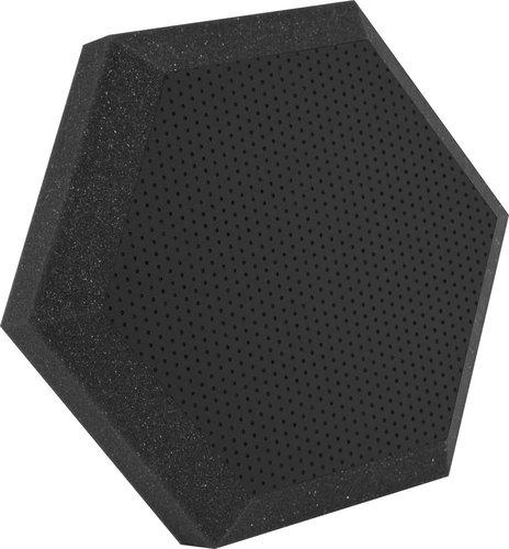 "Ultimate Acoustics UA-HX-12 12"" Hex Series Hexagonal Foam Wall Panel, Class B UA-HX-12"
