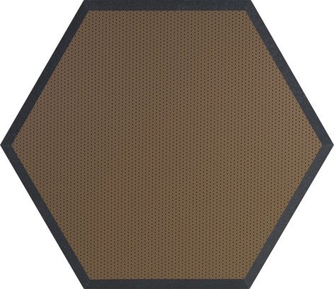 "Ultimate Acoustics UA-HX-24 24"" Hex Series Hexagonal Foam Wall Panel, Class B UA-HX-24"