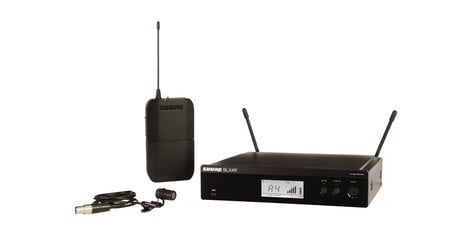 Shure BLX14R/W85-H10 Lavalier Wireless System With 542 - 572 MHz Frequency BLX14R/W85-H10