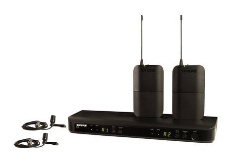 Shure BLX188/CVL-H10 Dual Channel Lavalier Wireless System With H10 Frequency BLX188/CVL-H10