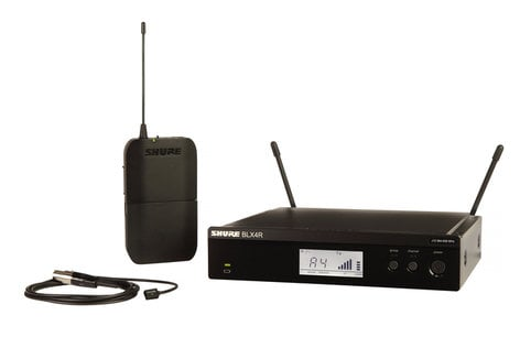 Shure BLX14R/W93-H10 Lavalier Wireless System With 542 - 572 MHz Frequency BLX14R/W93-H10
