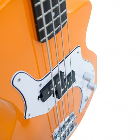 Orange Amplification O Bass 4 String Electric Bass with Orange Finish OBASS-OR