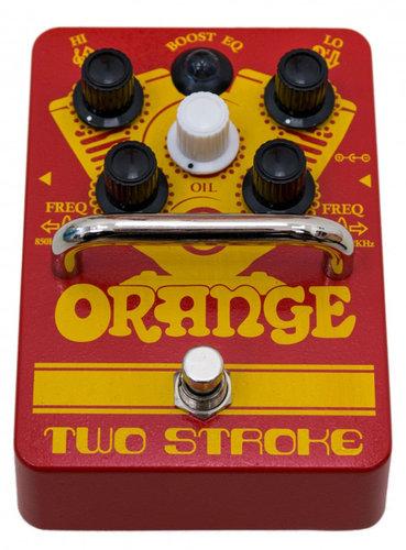 Orange Amplification Two Stroke Boost EQ Guitar Effects Pedal TWO-STROKE