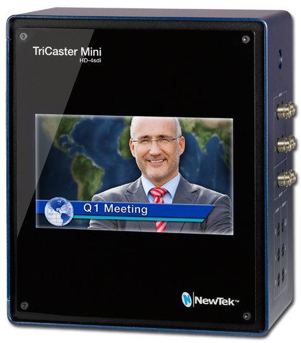 NewTek TCMINI-SDI  Tricaster Mini HD-4 SDI with Display & 2x Internal Drives TCMINI-SDI