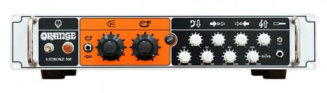 Orange Amplification 4 Stroke 500 500 Watt Solid State Bass Amplifier Head, Rackmountable 4STROKE-500