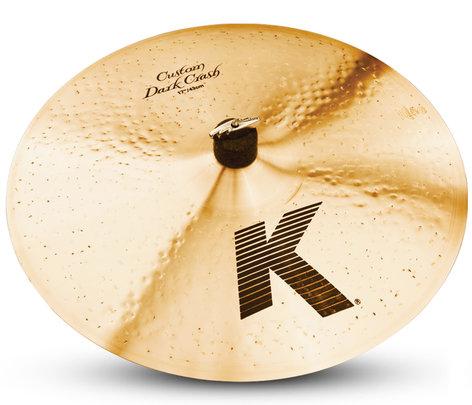 "Zildjian 17"" K Custom Dark Crash Cymbal K0952"