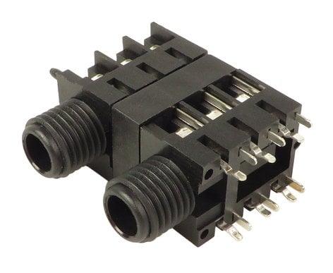 "Fostex CONT000066  1/4"" Dual Stack Speakon Jack for Saffire Pro 14 CONT000066"
