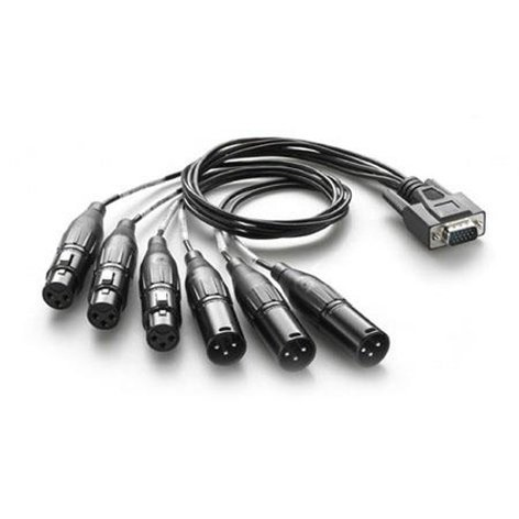 Blackmagic Design ATEM Audio Breakout Cable for ATEM 1/ME and 2/ME Switchers BMD-CABLE-ATEMAUDIO