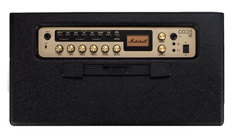 """Marshall Amplification CODE 50 50 Watt Combo Amplifier with 12"""" Speaker M-CODE50-U"""