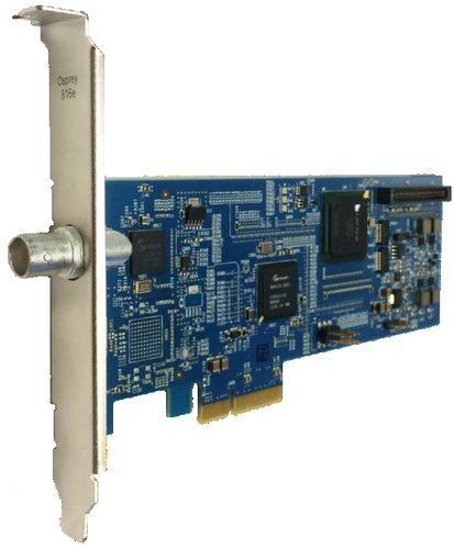 Osprey Video 816e Single Input 3G SDI or DVB-ASI Video Capture Card 95-00495