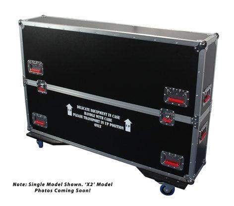 "Gator Cases G-TOURLCDV2-3743-X2 ATA Road Case for Two 37""-43"" Screens G-TOUR-LCDV2-3743-X2"