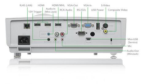 Vivitek DW884ST Short Throw Projector 3600lm WXGA DLP Projector DW884ST