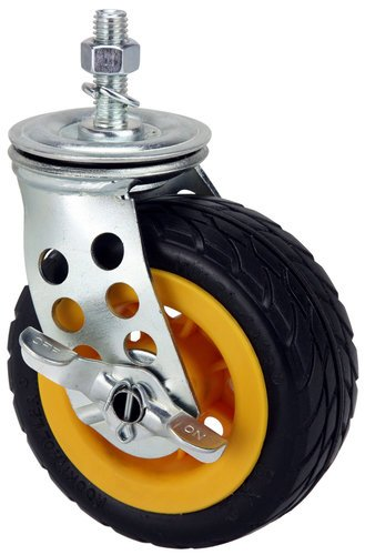 "Rock-n-Roller R5X2CSTR 5"" x 2"" Ground Glider Wide Caster with Brake (Upgrade for Rock-n-Roller R8RT/R10RT) R5X2CSTR"