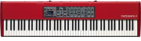 Nord NORD-PIANO3 Piano 3, 88-Key Hammer-Action Studio Piano NORD-PIANO3