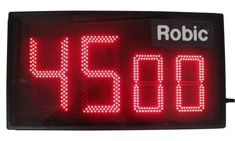 "TecNec Robic M903 Bright View 6"" LED Display Timer RO-M903"