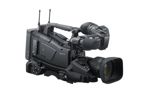 Sony PXWX400KC Camcorder XAVC 2/3 Pro Memory w/Canon 20x Manual Focus Lens PXWX400KC