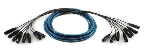 Whirlwind MT-24-F-M-50/SSH  24-Channel 50-Ft Snake With Female To Male XLR Connectors MT-24-F-M-50/SSH