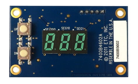 ETC/Elec Theatre Controls 7400B5602-CFG  Configured PCB Assembly for Selador 7400B5602-CFG