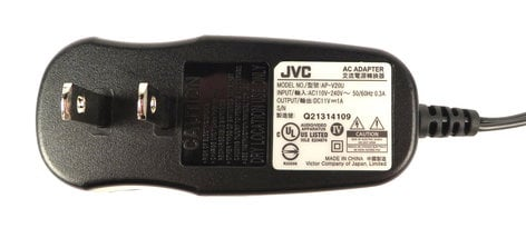 JVC QAL1151-002  AC Adaptor for GR-DA30U QAL1151-002