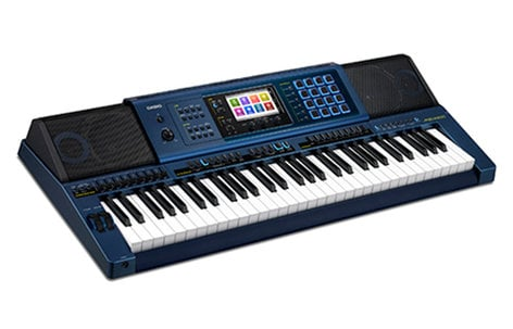 Casio MZ-X500 61-Key Music Arranger Keyboard 330 Rhythms MZ-X500