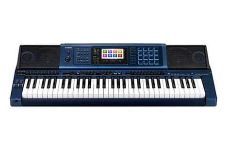Casio MZ-X500 61-Key Music Arranger Keyboard 330 Rhythms MZ-X500