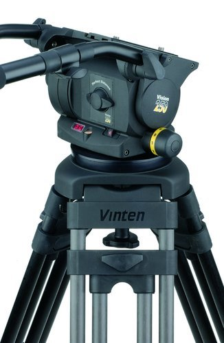 Vinten Vision 250 Pan and Tilt Head with Dual 100 mm/150 mm Ball Base 3465-3S