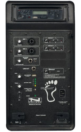 Anchor BIGFOOT-DUAL-EMTA4F Kit 8000CU2 With Transmitters And Microphones BIGFOOT-DUAL-EMTA4F