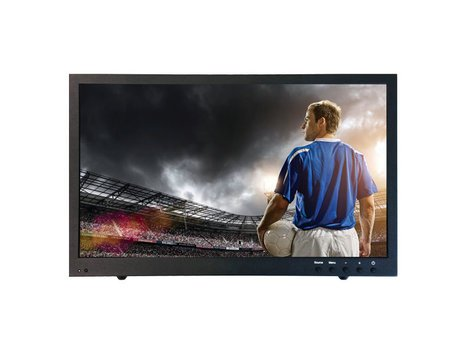 "ToteVision 21.5"" LED Monitor 1080P HD-SDI In/Out, VGA, Metal Case LED2153HDSDI"